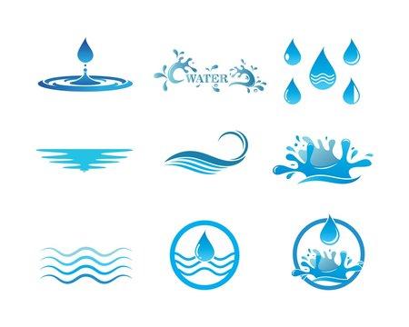 water  Logo Template vector illustration