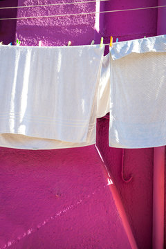 The colorful houses of Burano (Venice)