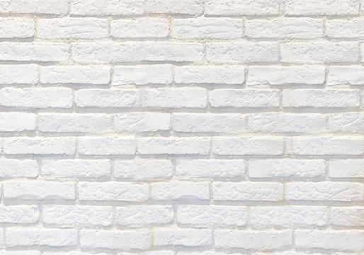 白いレンガの背景イラスト