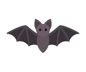 Cartoon bat icon
