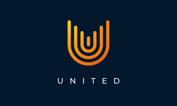 United Letter U Logo