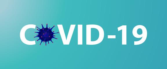 Covid 19, pandemic coronavirus symbol and icon vector illustration