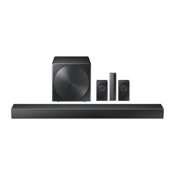 5.1-Channel Soundbar with Wireless Subwoofer Isolated. Data Surround Speakers. Acoustic Audio Sound Stereo System 5-Channel Output with Subwoofer. Loudspeakers. 460W Home Theatre Entertainment System