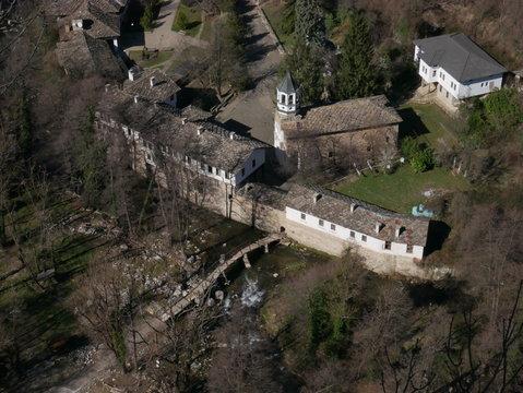 Monastère vue de haut