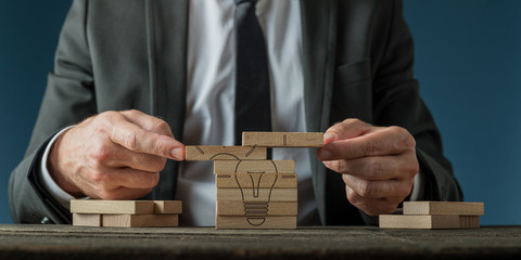 Business vision and strategy conceptual image