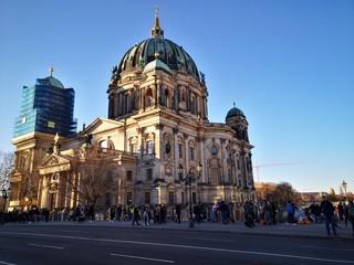 Papiers peints Pleine lune happy new year in berlin