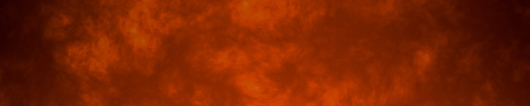 Abstract epic fire horizontal background with flame wave