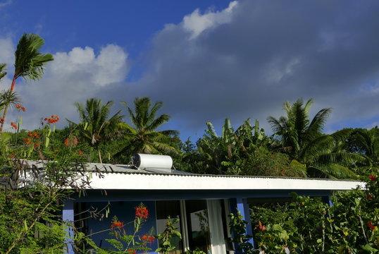 Panneau solaire sur le toit