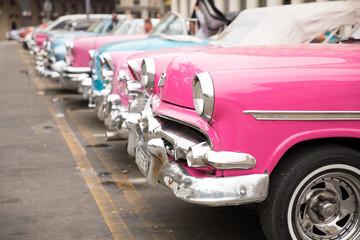 Papiers peints Vintage voitures Classic cars row