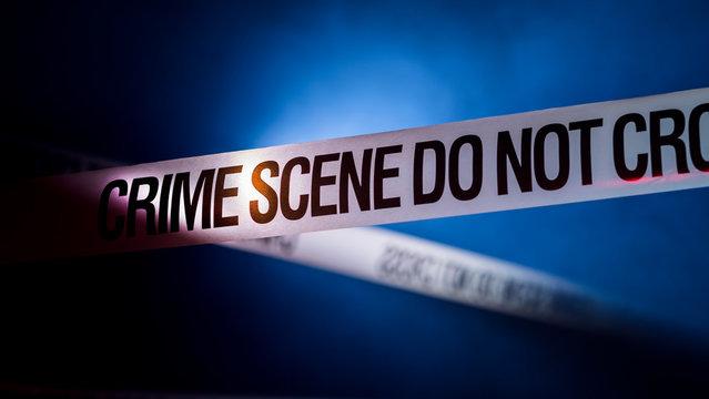 Crime Scene Tape Don't Cross