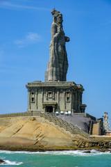 Thiruvalluvar statue in Kanyakumari, India