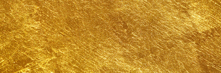 gold texture used as background Fotobehang