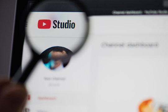 Youtube video studio