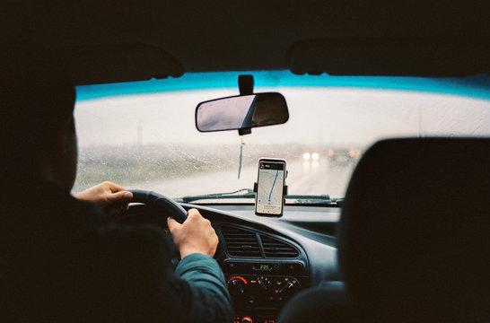 Uberfahrt zur polnisch-ukrainischen Grenze