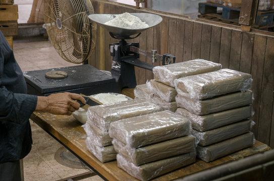 Cocaine warehouse Illegal drug production