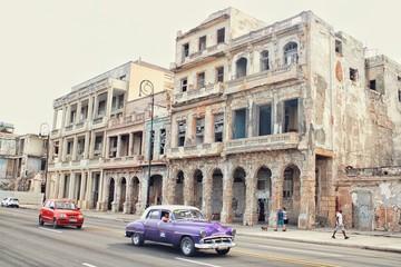 Poster de jardin Havana OLD STREETS OF HAVANA CUBA