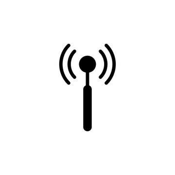 antenna icon design template. Trendy style, vector eps 10