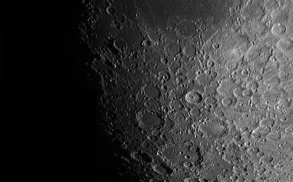 south region of the moon