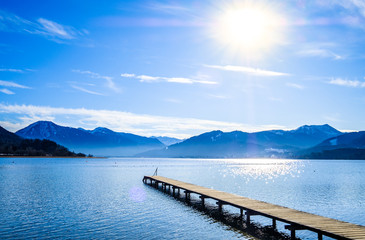 Wall Mural - tegernsee lake - bavaria - germany