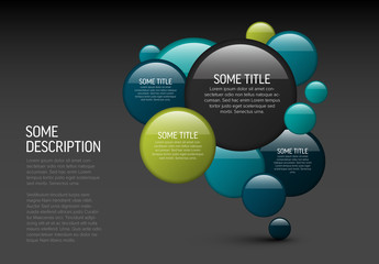Multipurpose Flyer Banner Layout with Circles