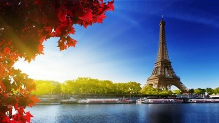 Poster Eiffeltoren eiffel tower in paris