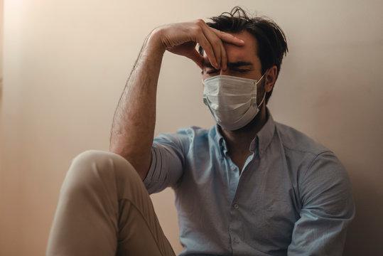 Mental issues during the new coronavirus home quarantine