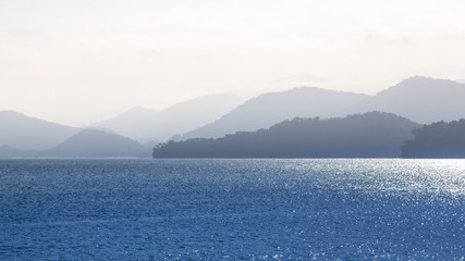 Photo sur Plexiglas Blanc oceano tropical