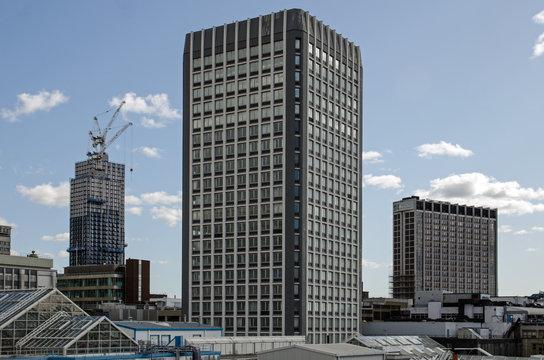Tall buildings in Croydon, South London