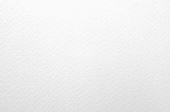 Watercolor paper texture. Vector white background