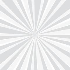 popular white ray star burst background television vintage - Vector