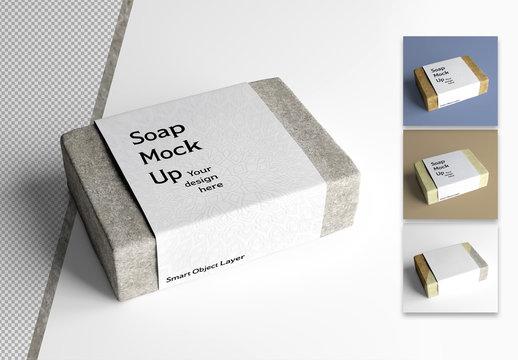 Hand Soap Bar Mockup