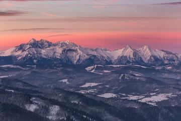 Obraz Pieniny - Carpathians Mountains - fototapety do salonu
