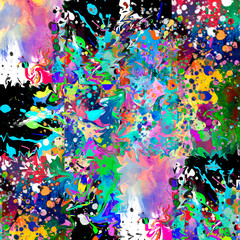 abstract background with flash