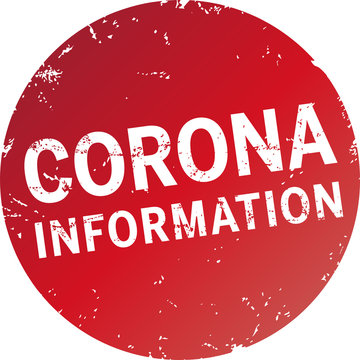 roter Button Corona Information