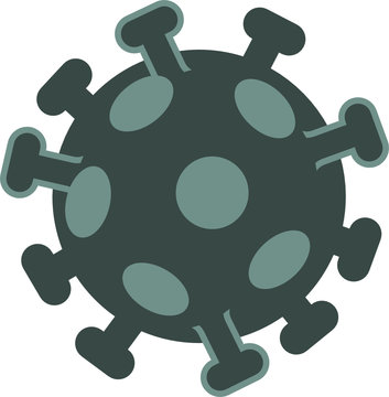 Coronavirus - vector icon - isolated object
