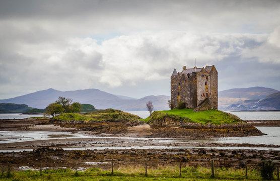 Castle in the Scottish Highlands