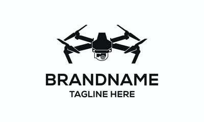 Drone Vector Logo Design Inspirations Wall mural