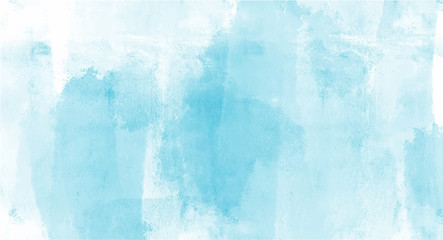 Vintage Blue watercolor background for your design, watercolor background concept, vector. Fototapete