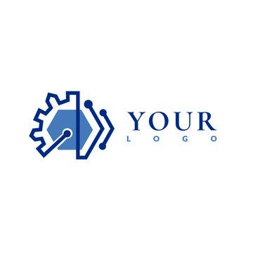 Electronic Logo Vector
