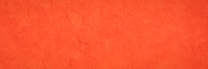 red and orange textured mulberry paper