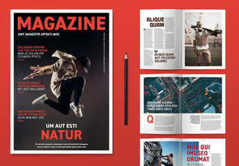 Modern Magazine Layout