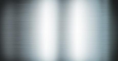 Foto op Plexiglas Metal Silver brushed metal. Banner background texture
