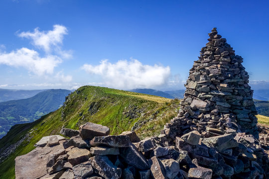 Puy Mary and Chain of volcanoes of Auvergne, Cantal, France