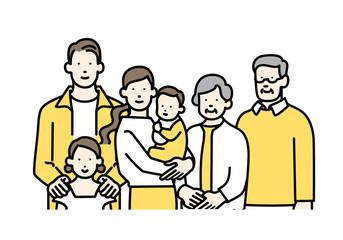 幸せな家族セット