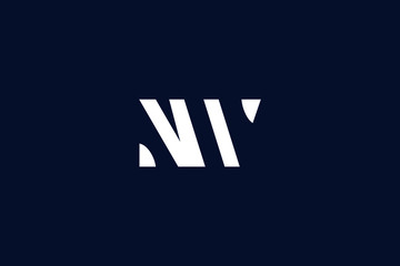 Initial based clean and minimal Logo. NW WN N W letter creative fonts monogram icon symbol. Universal elegant luxury alphabet vector design
