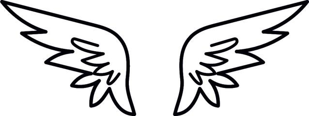 WINGS eps- Angel Wings- wings cut file- wing eps- angel eps