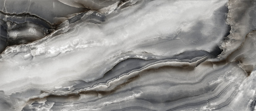 black abstract onyx marble background