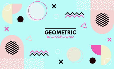 geomentric background with modern style and minimalist concept