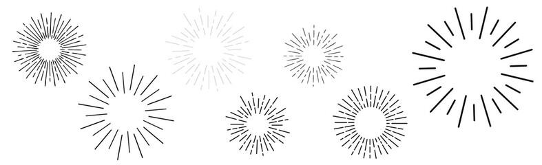 Explosion graphic Fototapete