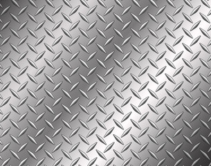 Photo sur cadre textile Metal The diamond steel metal texture background